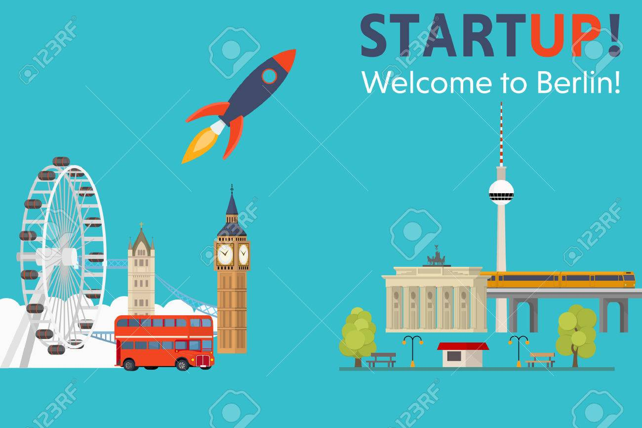 Sturtup, welcome to Berlin! Moving startups from England to Germany - Concept - 59941302