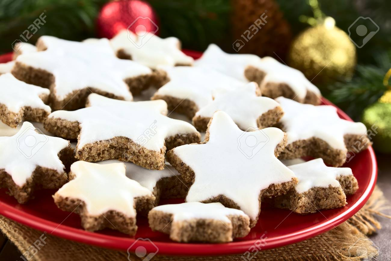 Deutsche Weihnachtsplätzchen.Stock Photo