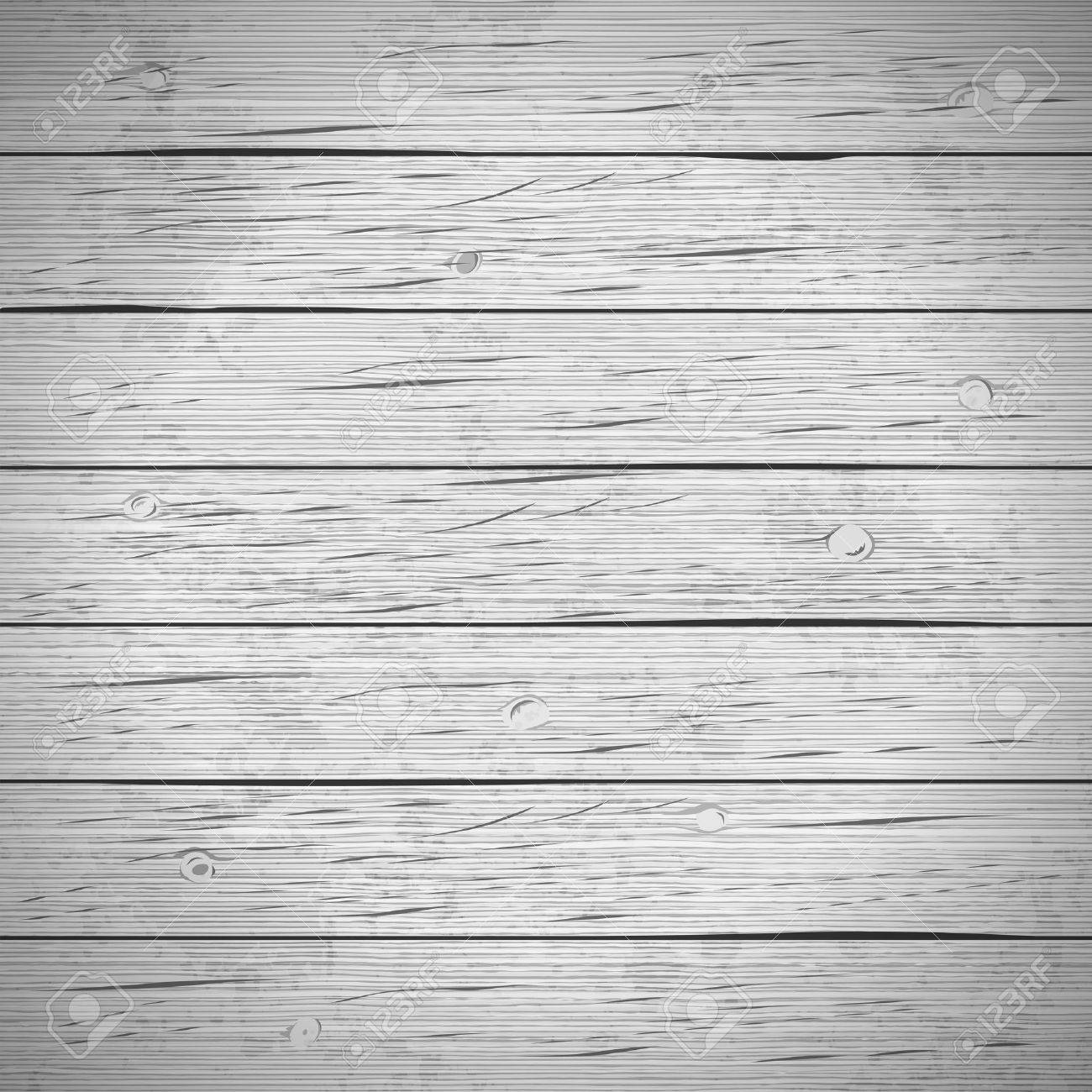 Rustic wood planks vintage background. Vector illustration. - 54724156