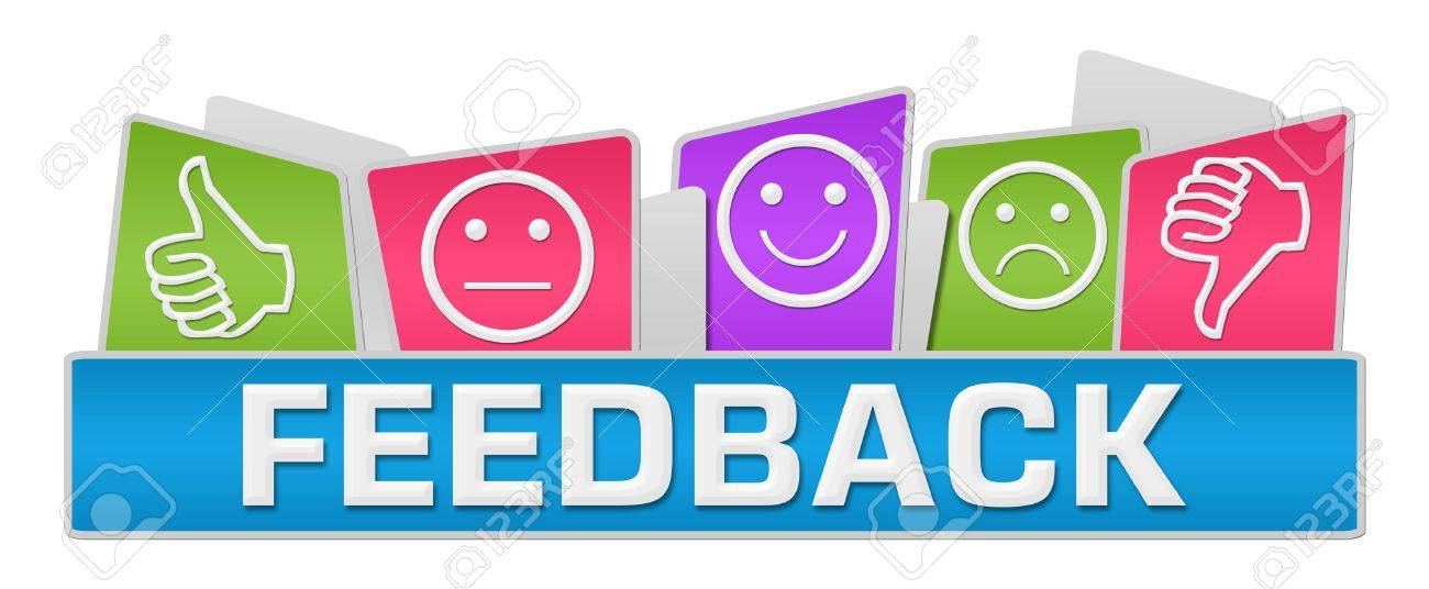 Feedback Colorful Rounded Squares - 46073324