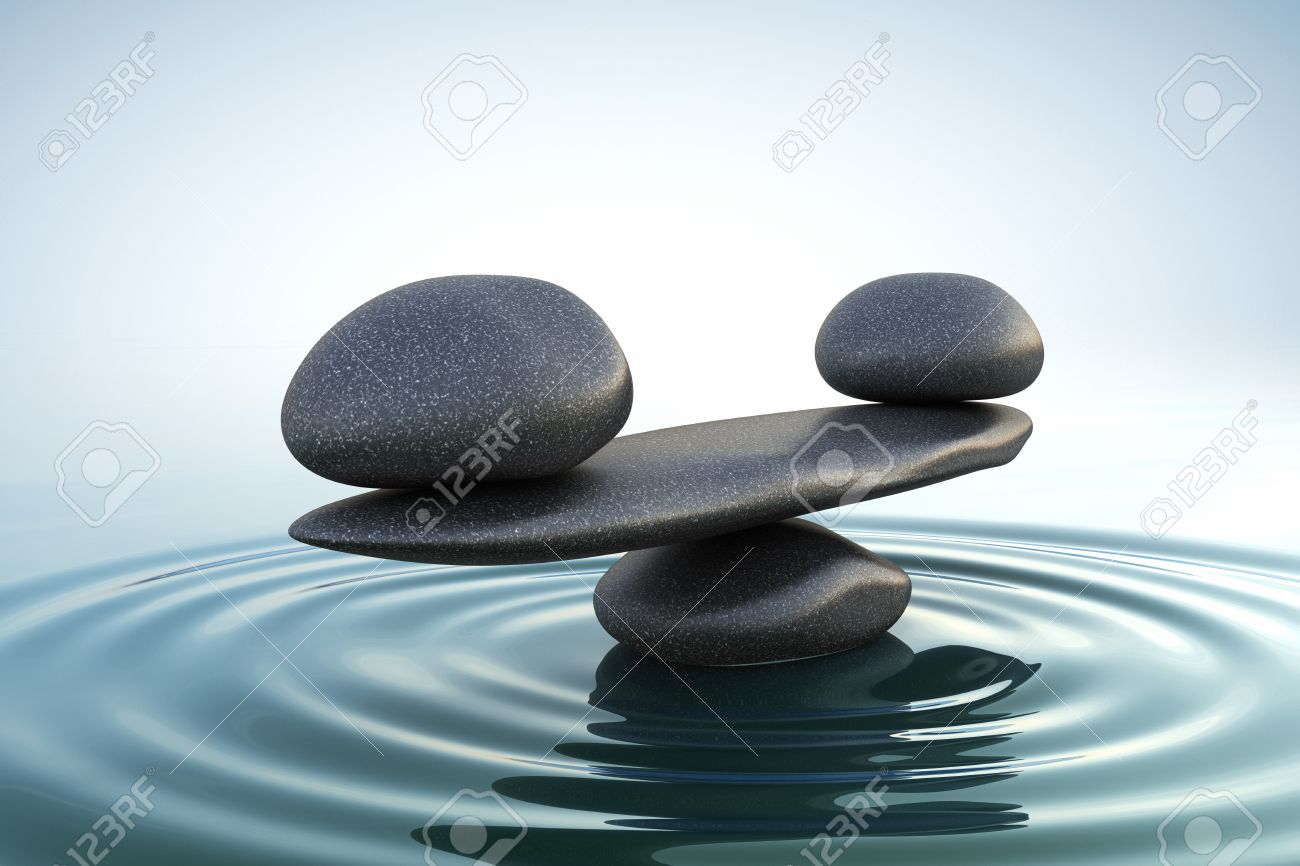 Zen stones balance - 34284389