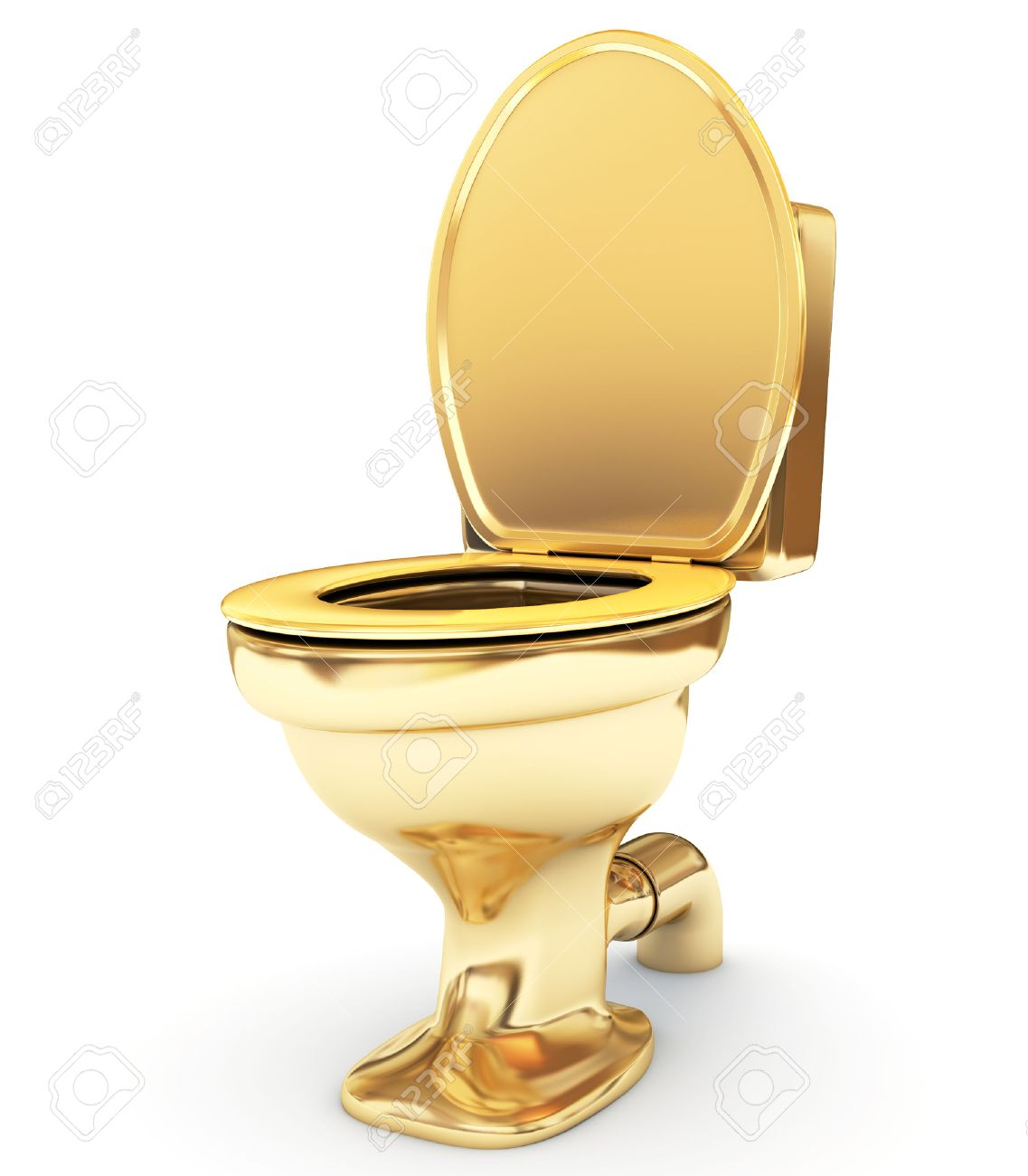 Amazing Golden Toilet Bowl As A Status Inzonedesignstudio Interior Chair Design Inzonedesignstudiocom