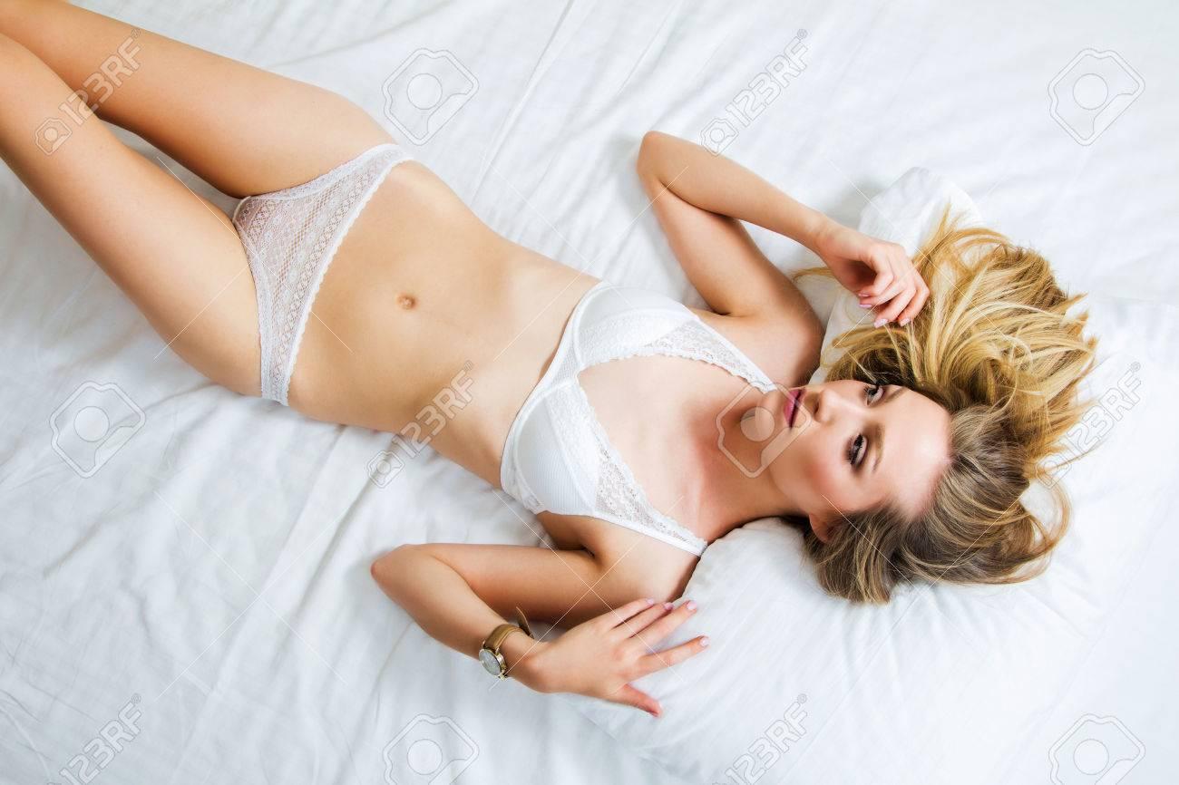 Sexy girls panties bed