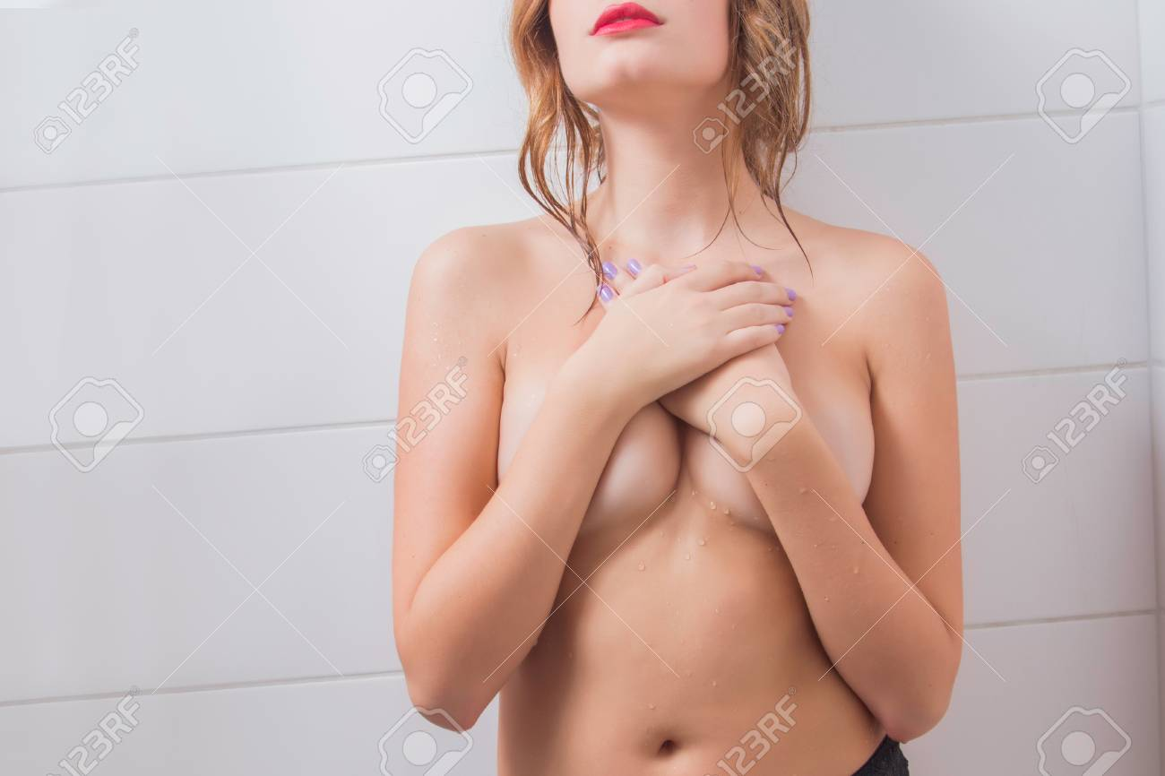 Girl being fucked in the shower
