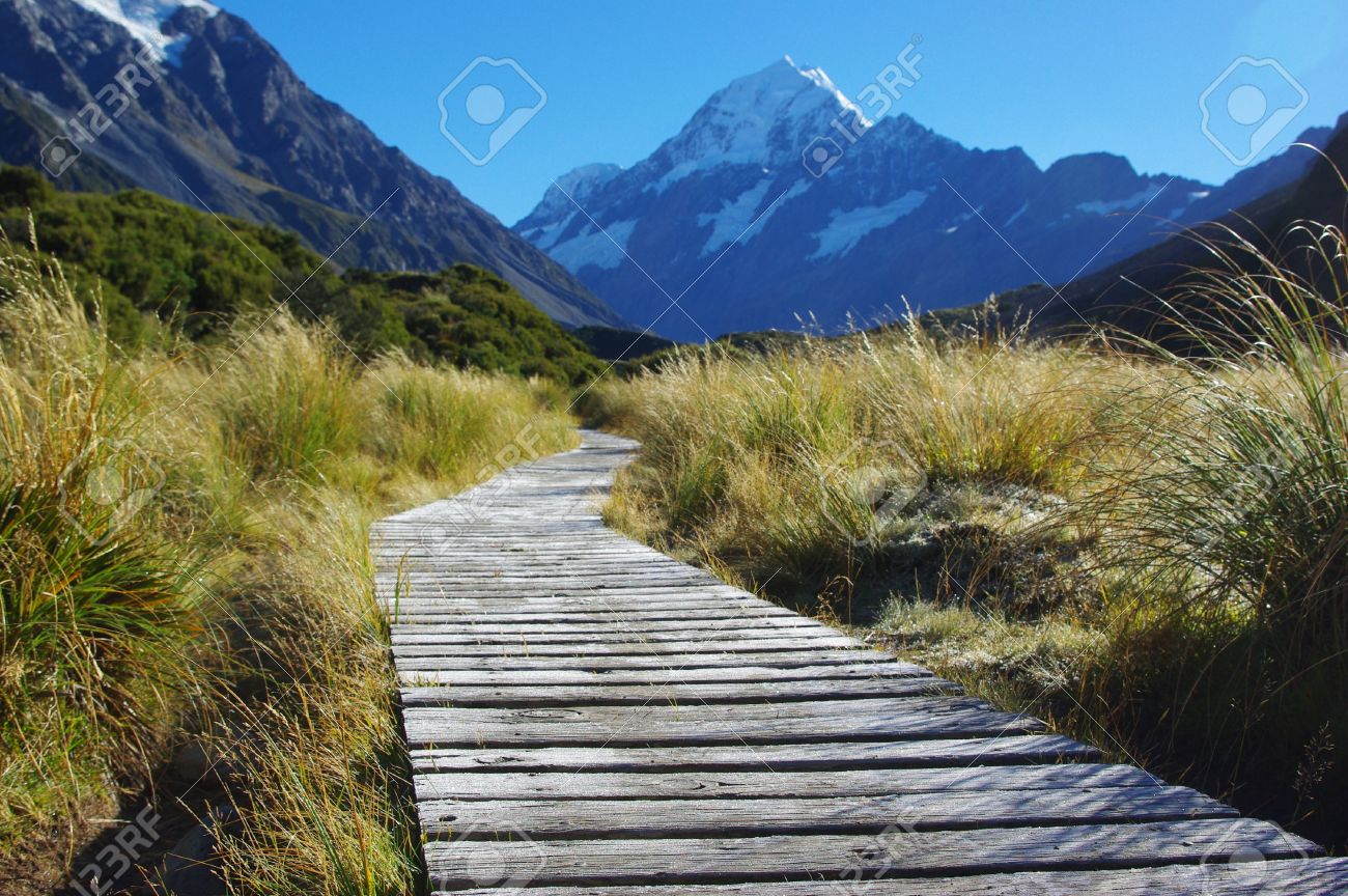 Path With Landscape Background Stock Photo Picture And Royalty Free Image Image 55596780