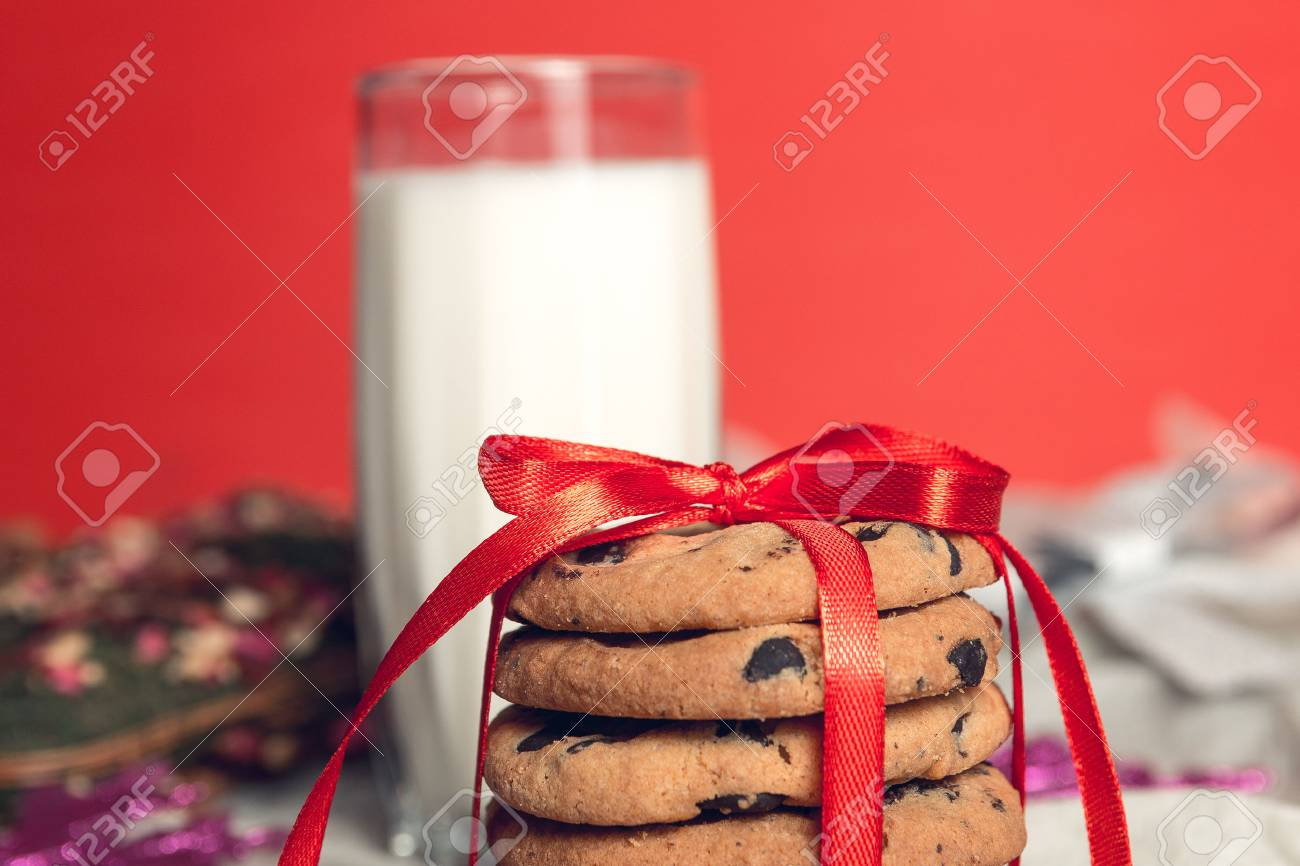 Christmas Milk And Cookies