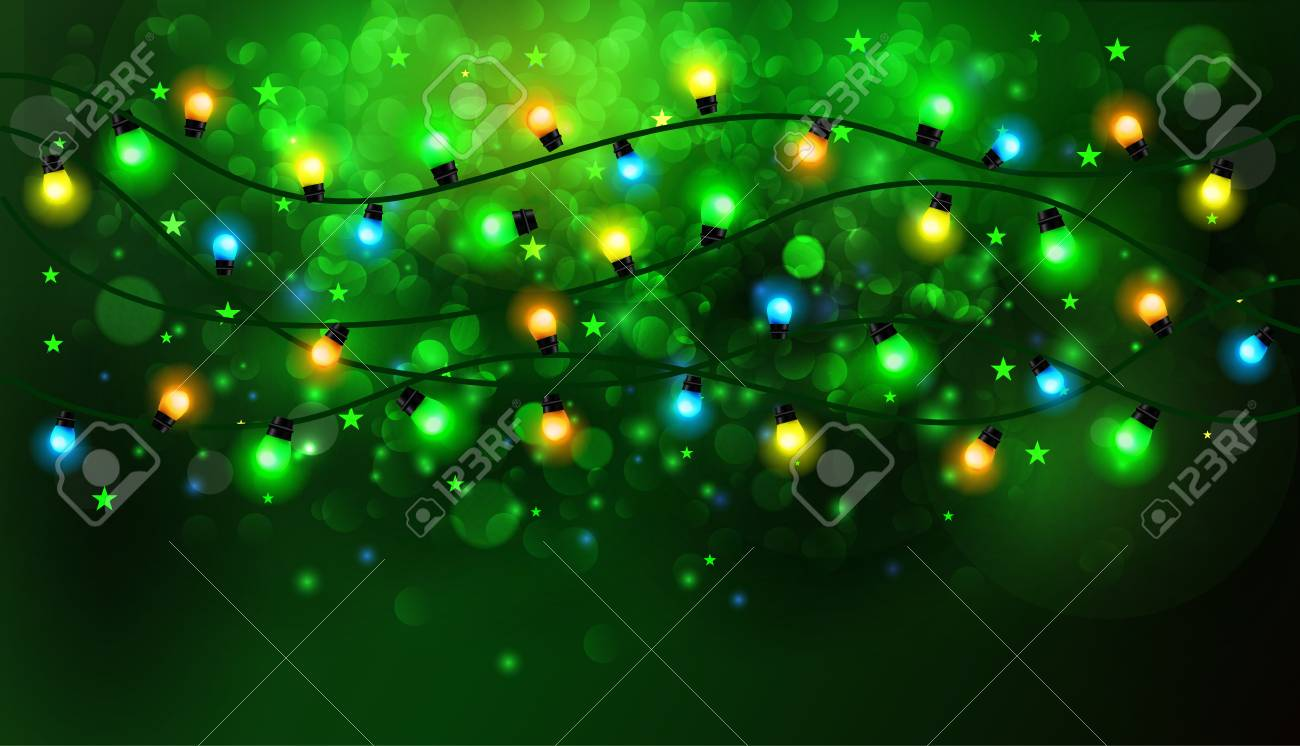 wire green string count christmas lights mini light miniature