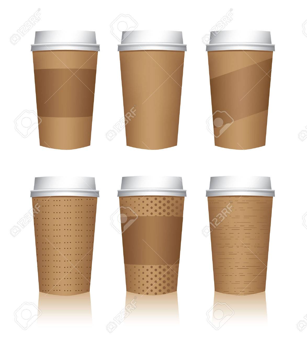 coffee cup templates royalty free cliparts vectors and stock