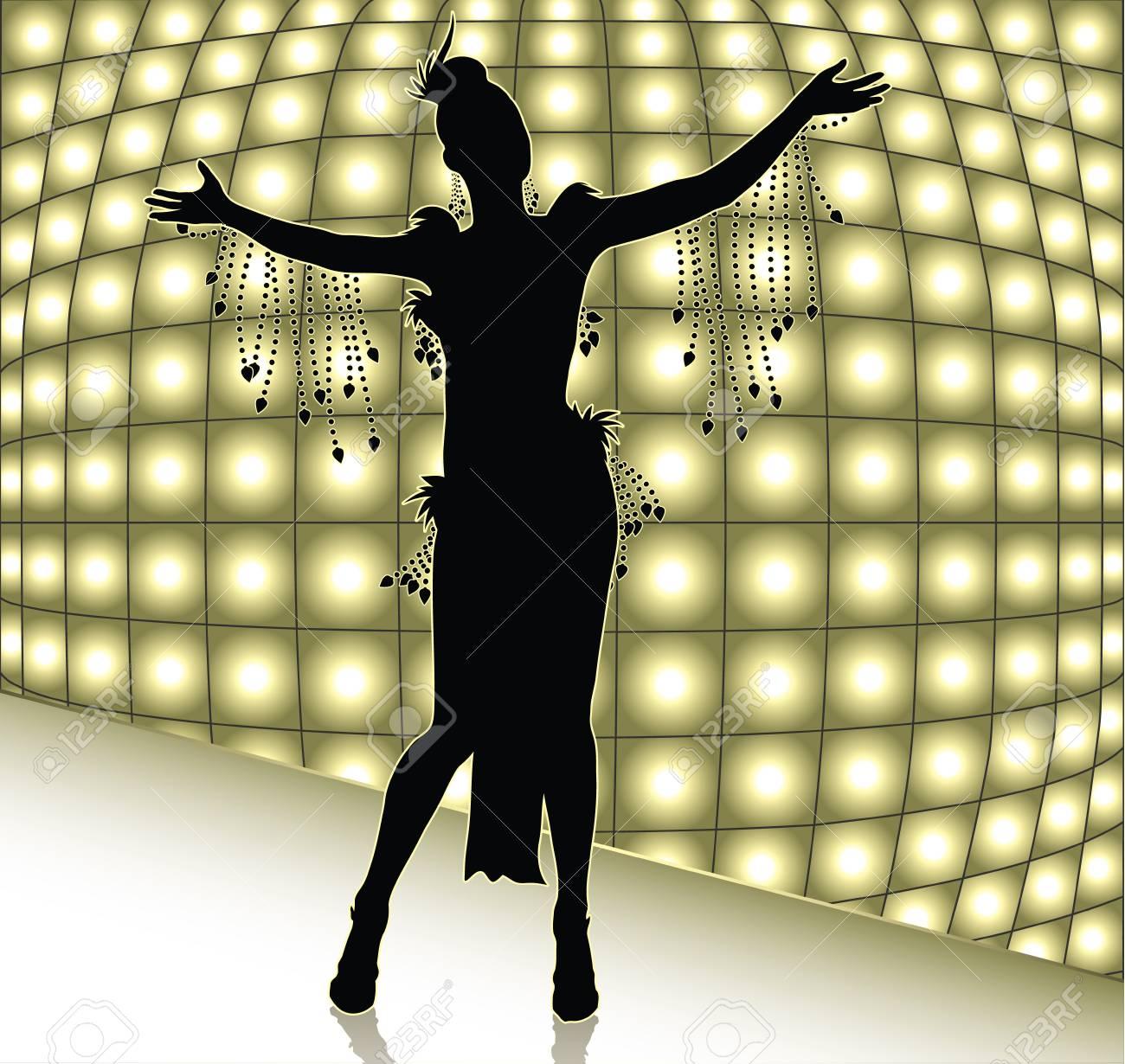 showgirl Stock Vector - 9151127