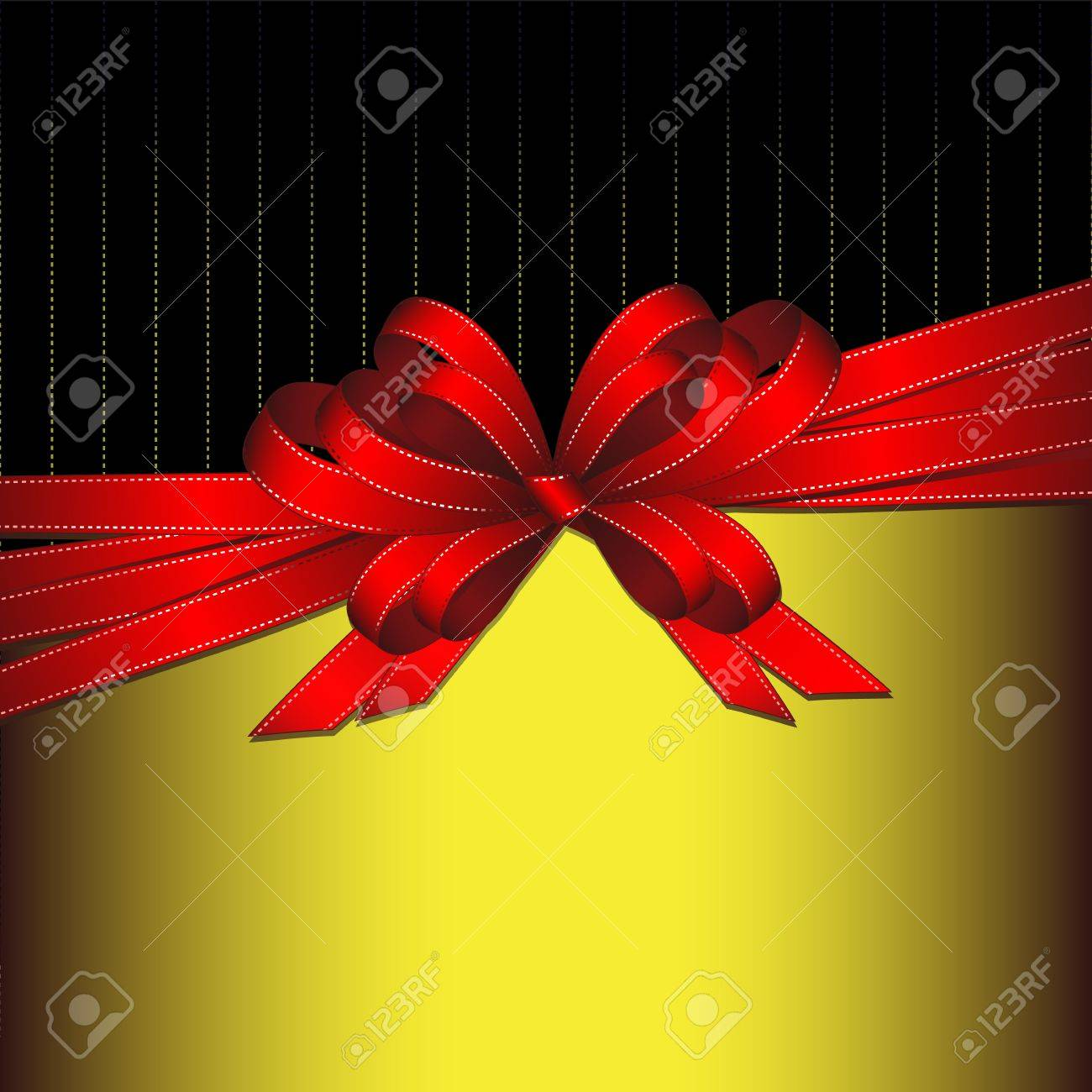 gift ribbon Stock Vector - 12772225