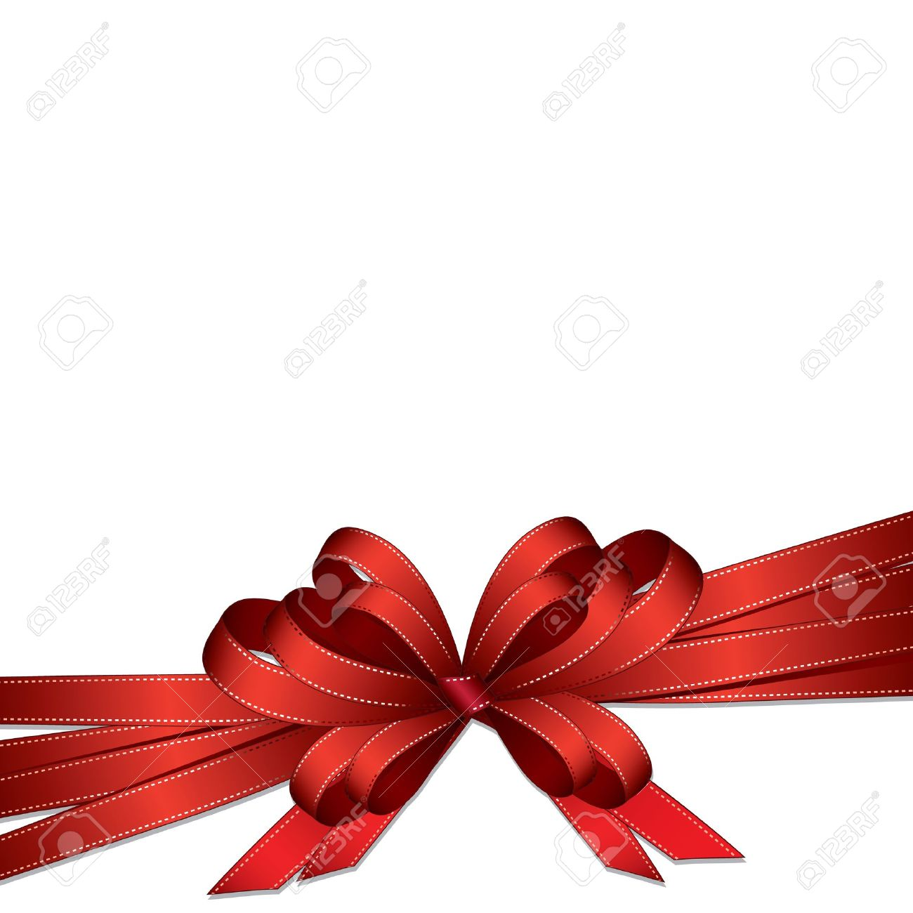 Gift Ribbon Royalty Free Cliparts, Vectors, And Stock Illustration ...