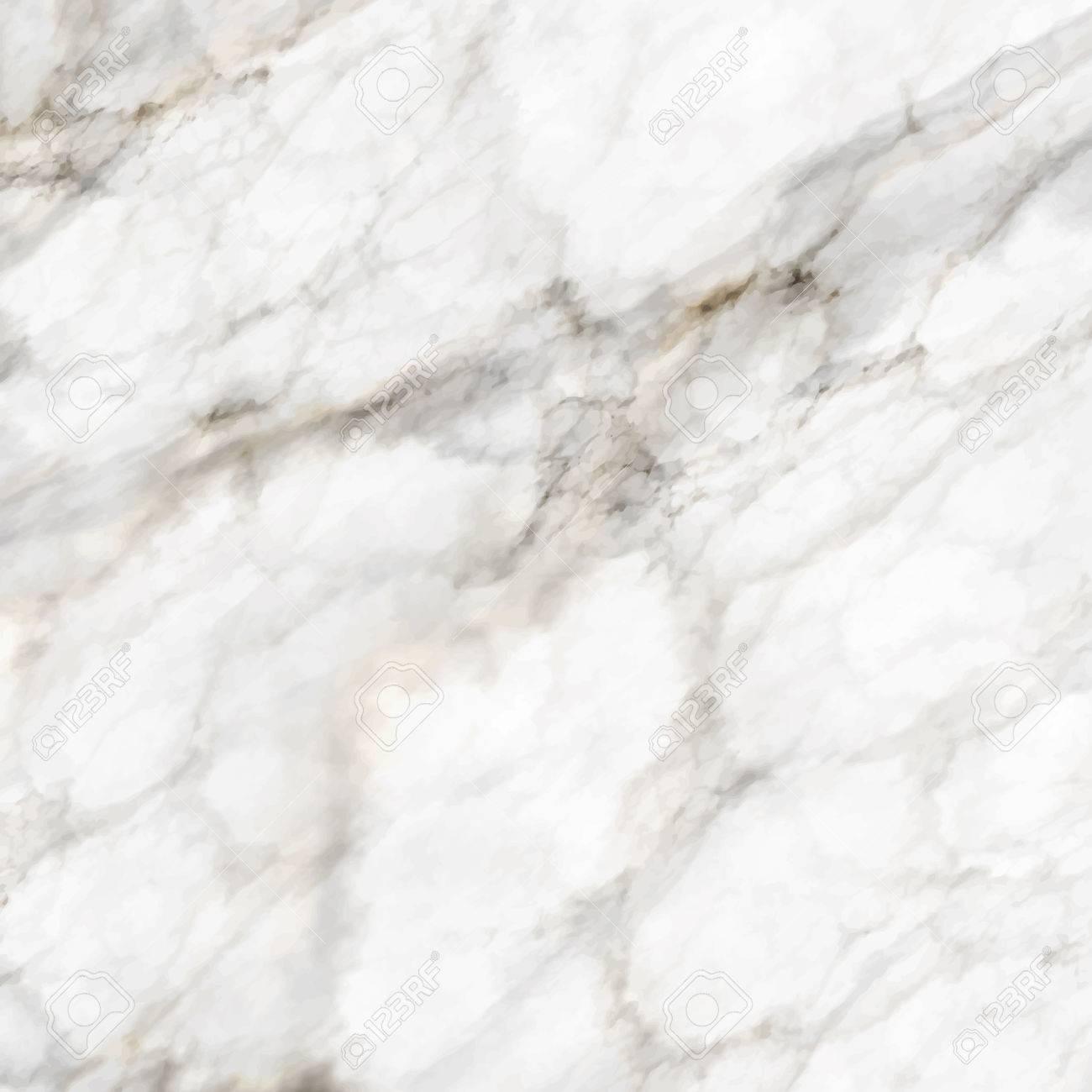 Seamless white marble texture background - 81579485