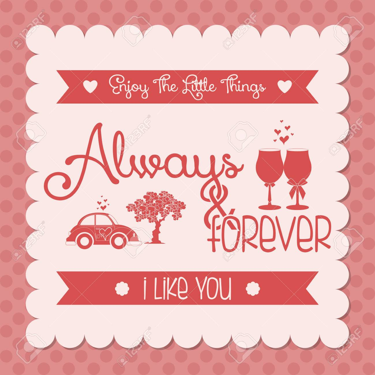 Cute Love Or San Valentine Card Editable Plantilla Ilustraciones – San Valentines Cards