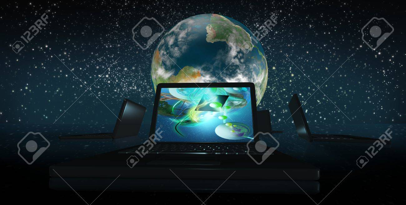the dawn of a new world with clean tech clusters Stock Photo - 10085236