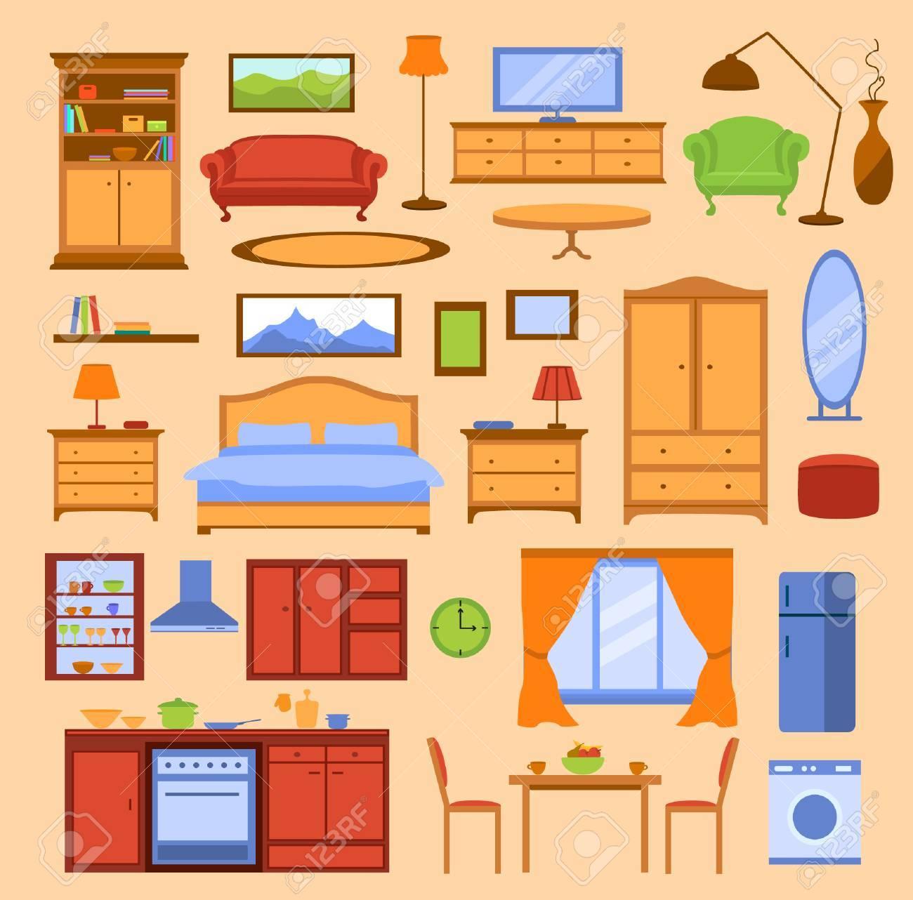 Bunte Möbel Einstellungen Vor. Hofmobiliendepot In Farbe. Küche,  Wohnzimmer, Schlafzimmer Möbel