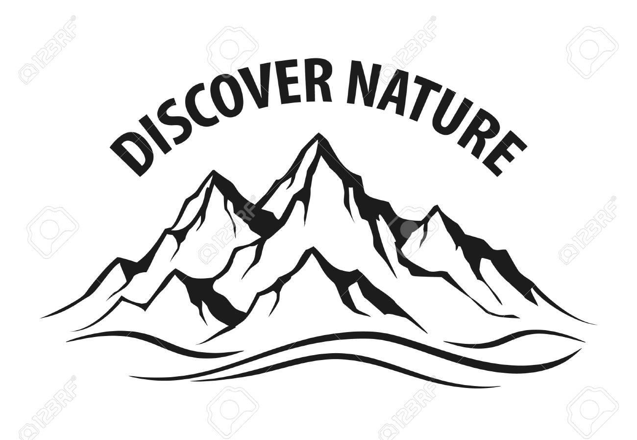 mountain range silhouette isolated vector illustration royalty free rh 123rf com mountain range clipart pictures rocky mountain range clipart