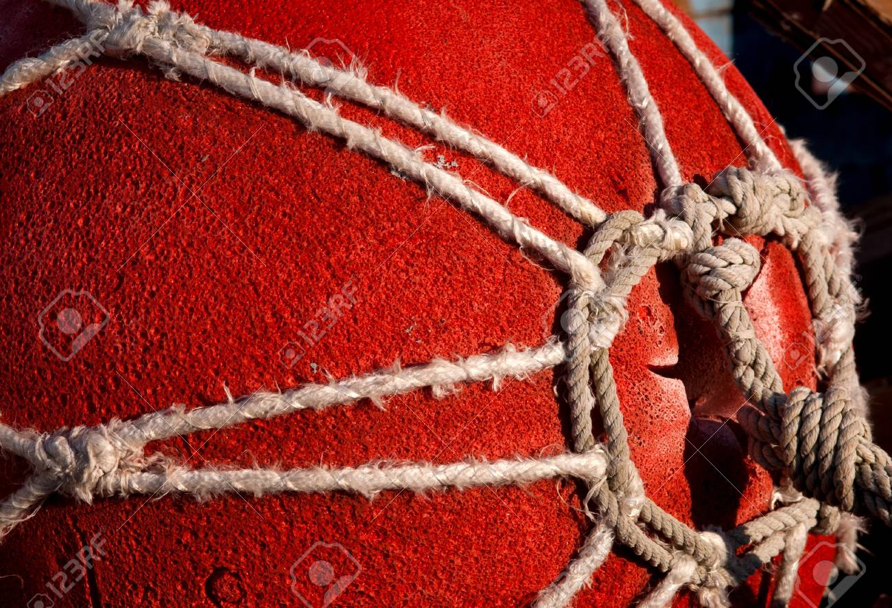 close-up of a red fishing floating Stock Photo - 15500386