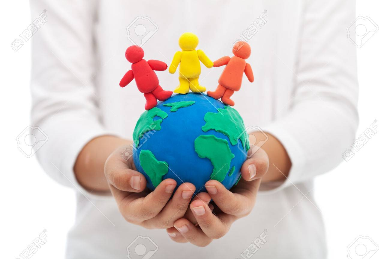 Living together in harmony on earth, our home concept - 24202781
