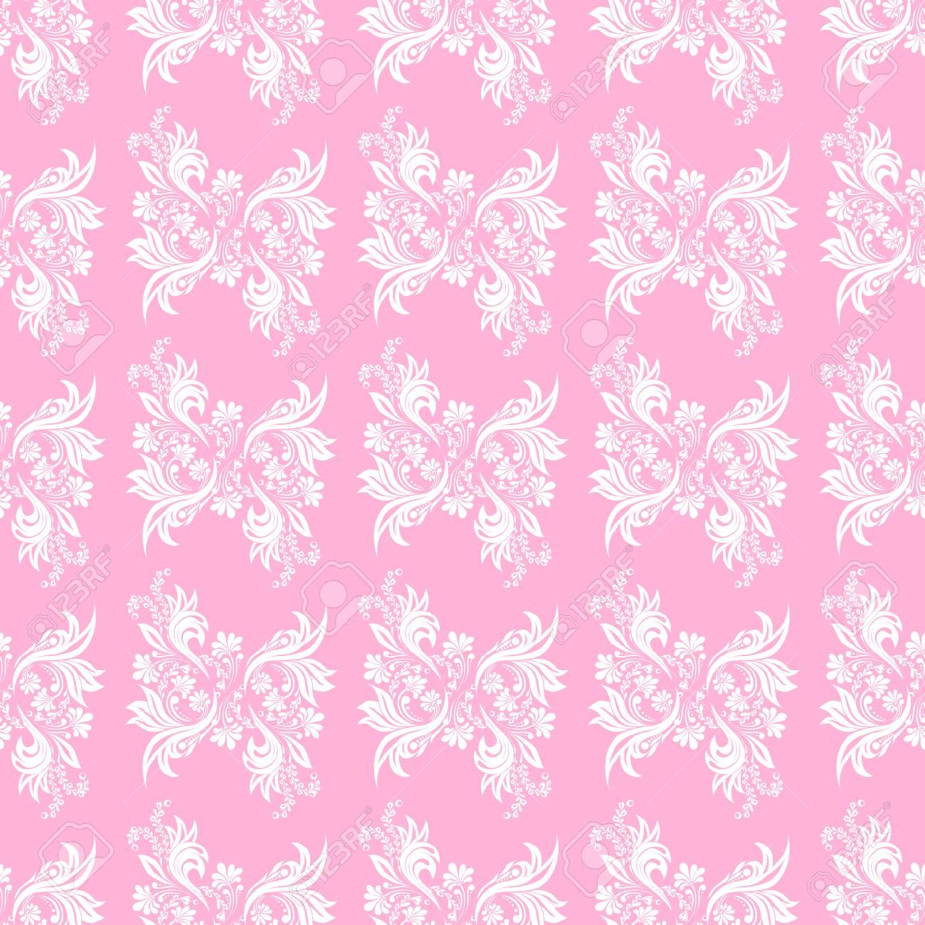 pink seamless pattern for wall wallpaper fabric textile design rh 123rf com