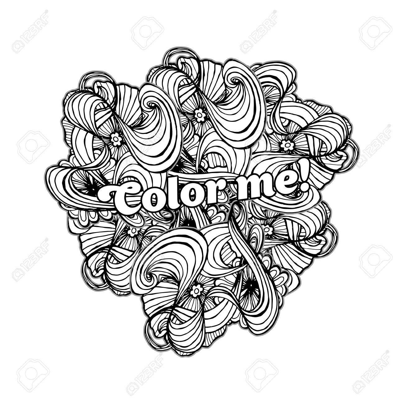 Hermosa Arte Abstracto Para Colorear Foto - Dibujos Para Colorear En ...