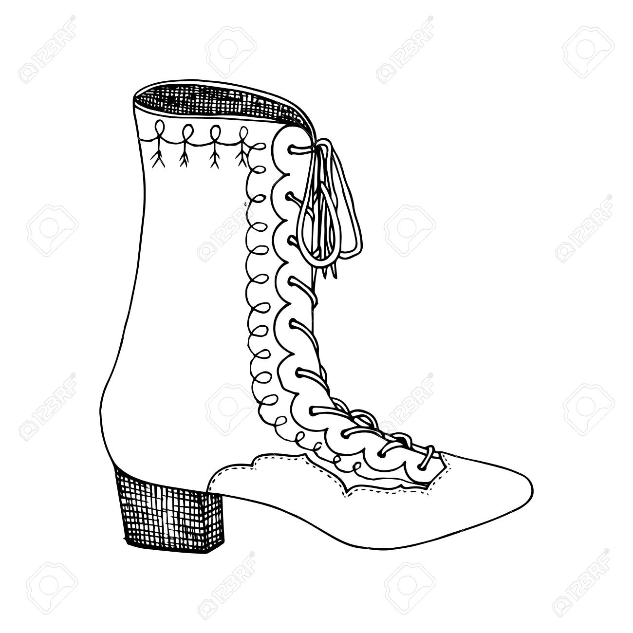 ModeClipart Conception Hauts De À Colorier Talons La Chaussures Isolé FemmeL'illustration Pour Pages Livres kiZXPuOTw