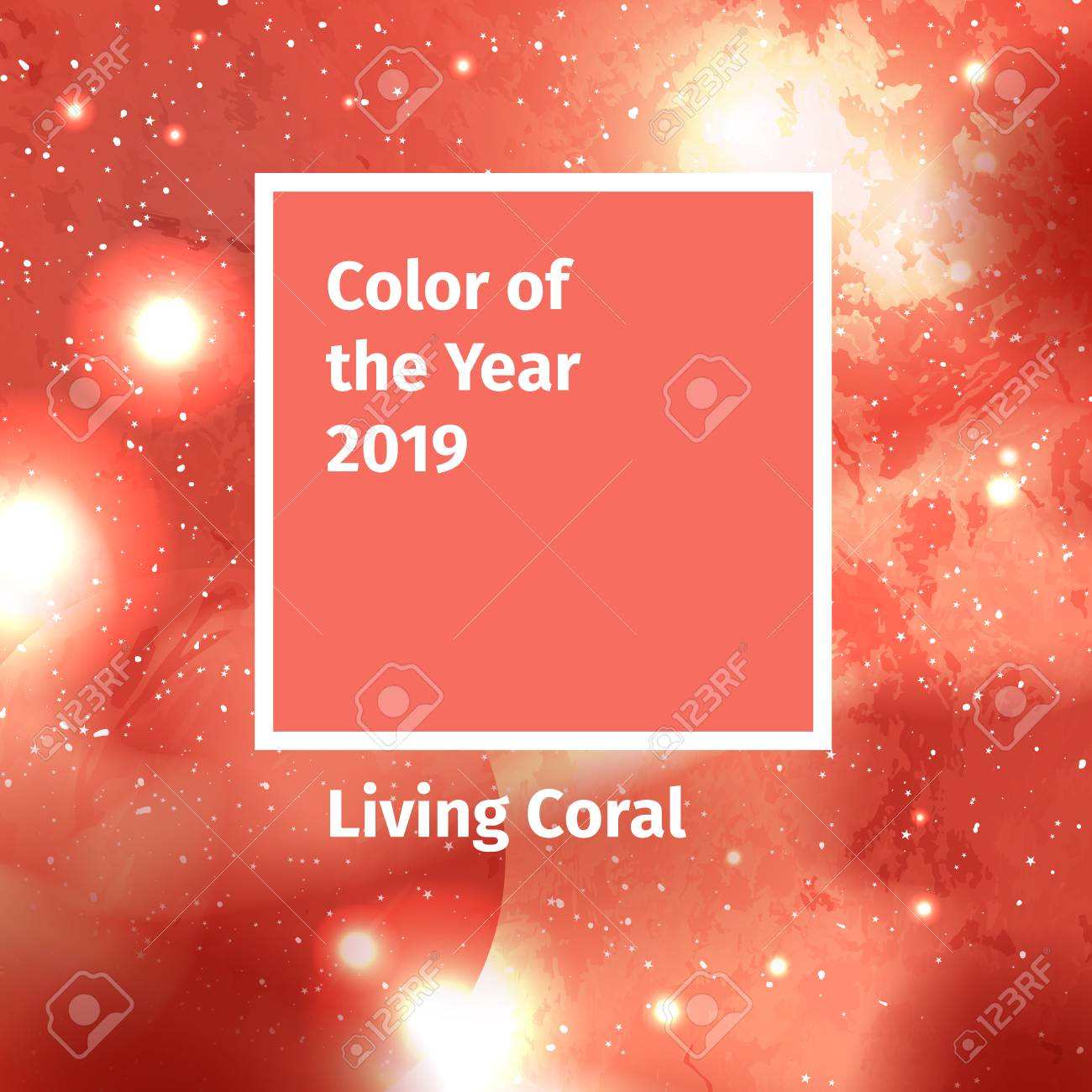 Color Of The Year 2019 Color Trend Palette Swatch Living Coral