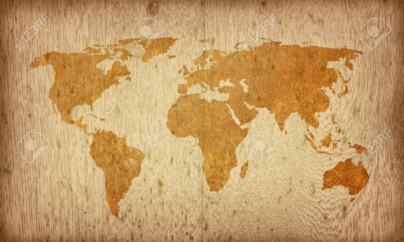 World map vintage artwork perfect background with space for stock photo world map vintage artwork perfect background with space for text or image gumiabroncs Gallery