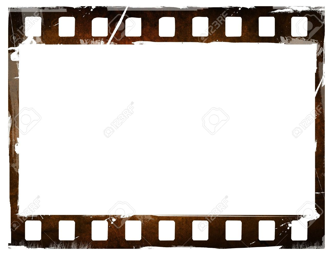 Great Film Strip For Textures And Backgrounds Frame Stock Photo ...