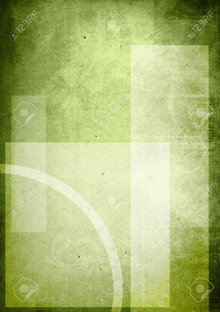 green backgrounds book cover with space for name Stock Photo - 8512458