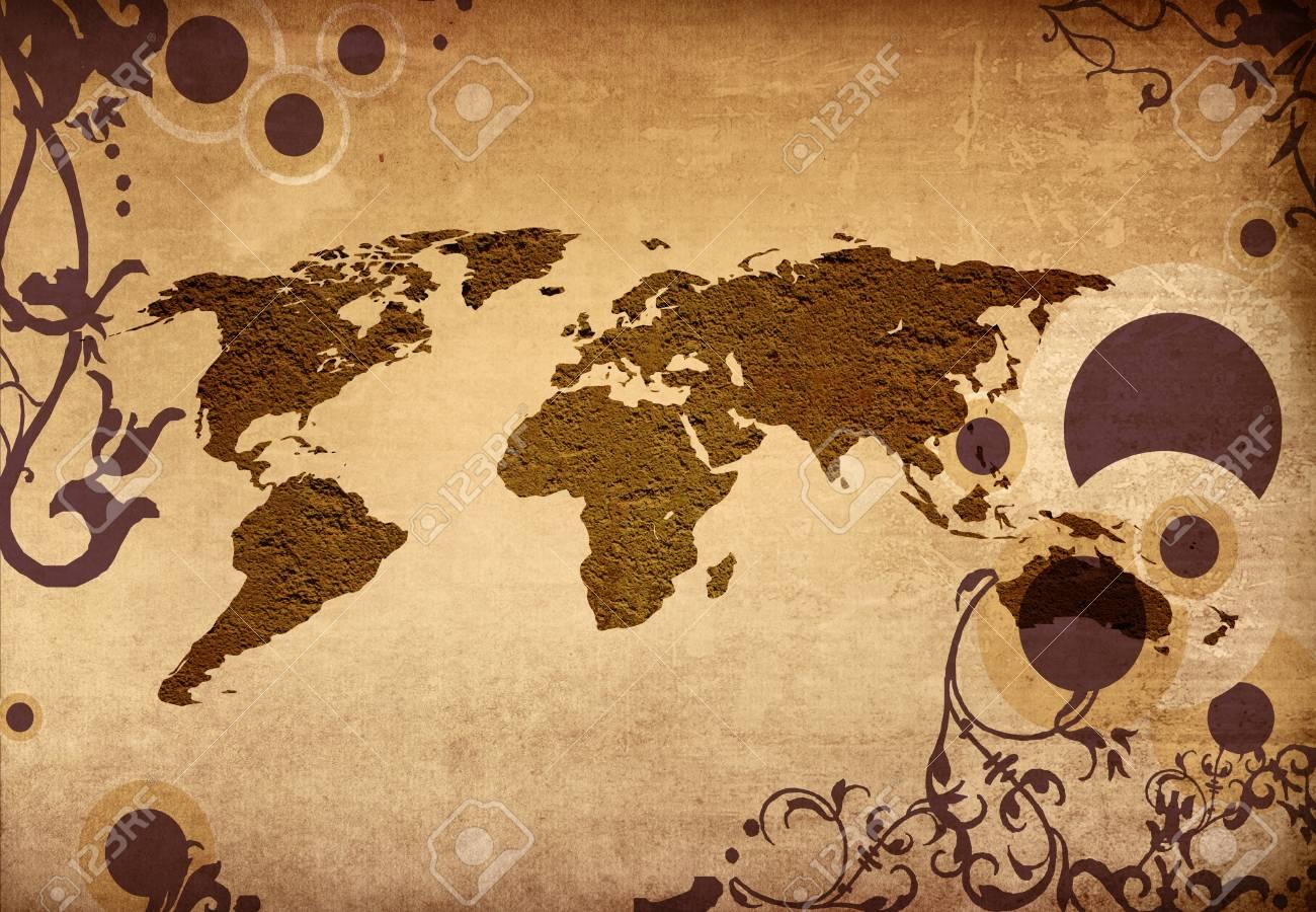 Cartina Mondo Gratta E Vinci