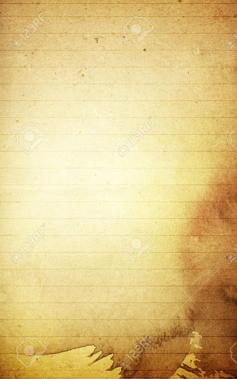 Grunge Textures Blank Note Paper Background Stock Photo