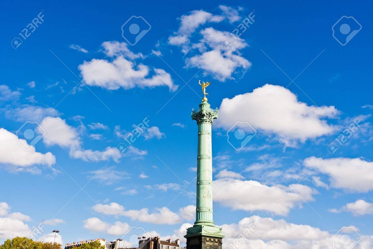 Place de la Bastille in Paris Stock Photo - 15933405