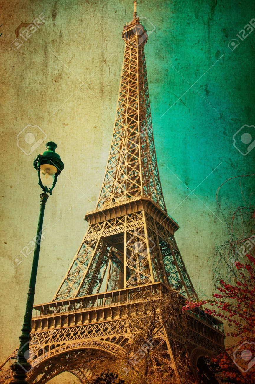 The Eiffel Tower (nickname La Dame De Fer, The Iron Lady),The ...