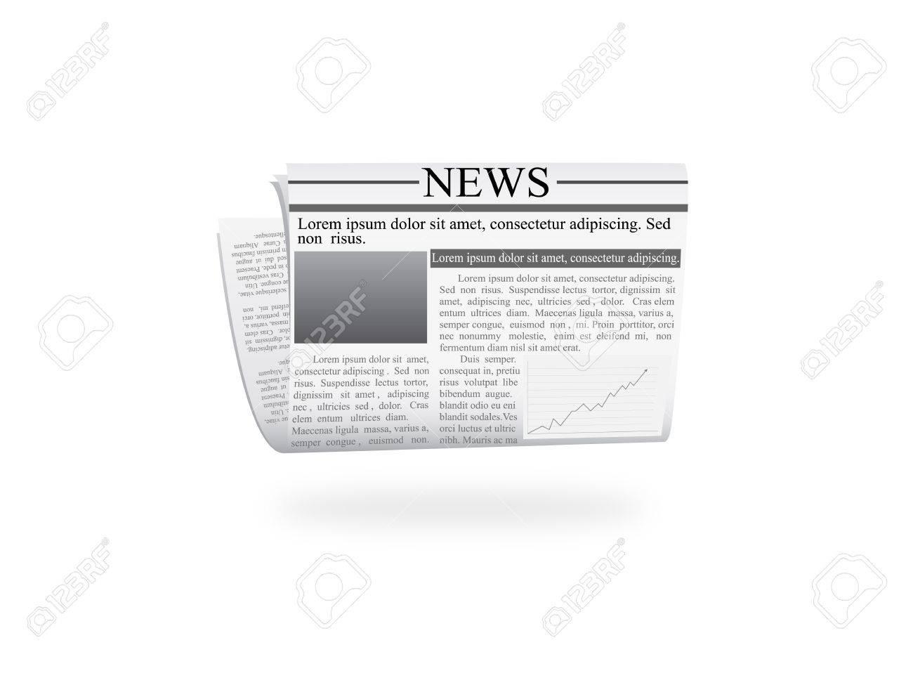 newspaper Stock Vector - 19986707