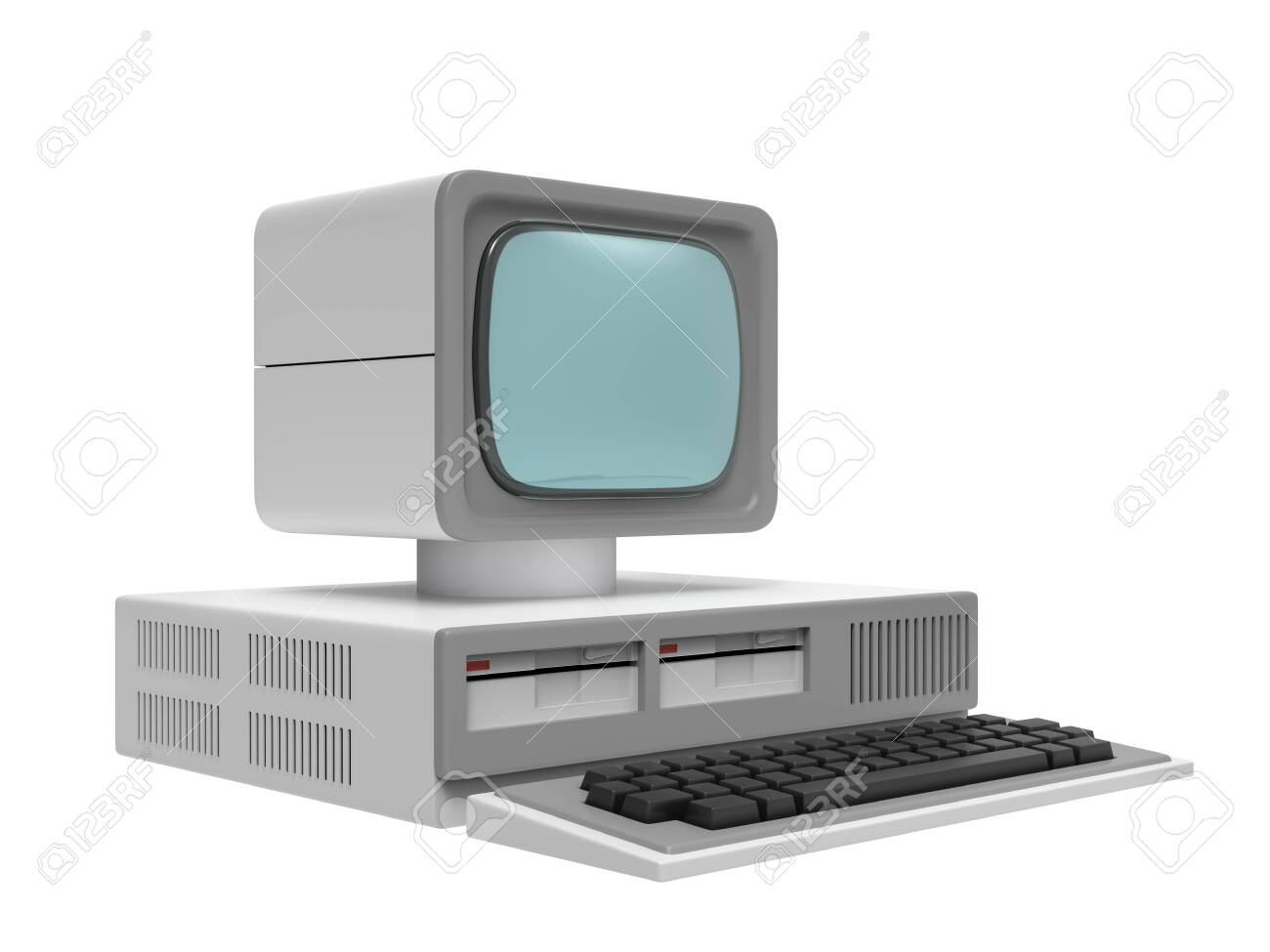 old personal computer - 126764931