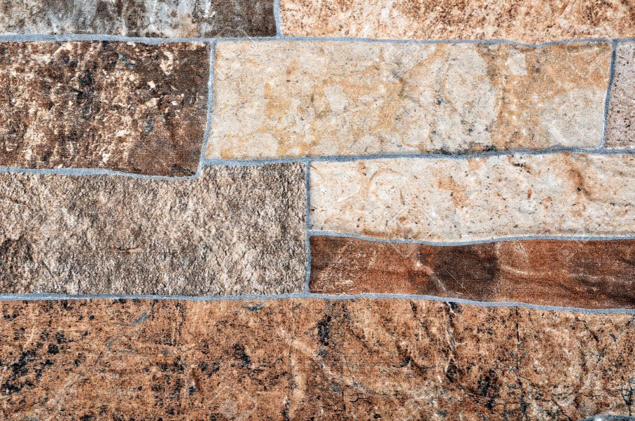 Piastrelle texture in gamma marrone rivestimenti decorativi con