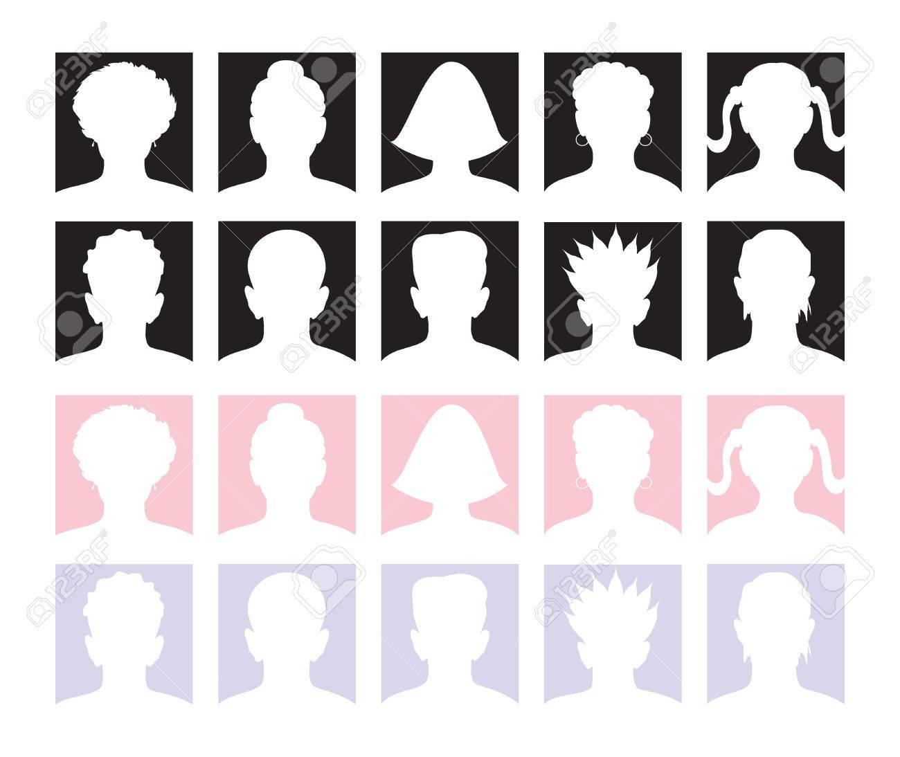 10 Anonymous Avatars and Mugshots