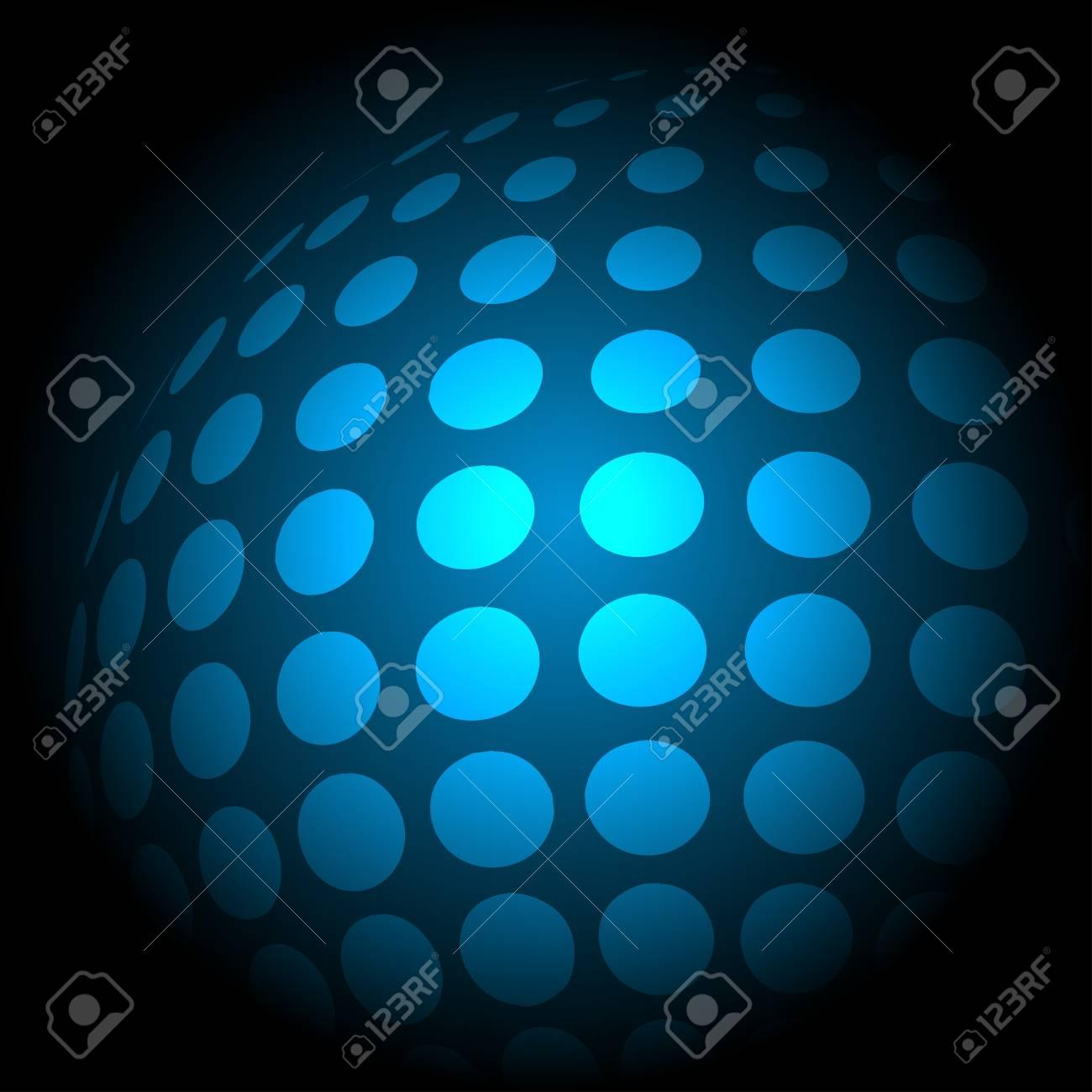 blue technology background, vector illustration eps10 Stock Vector - 14152869