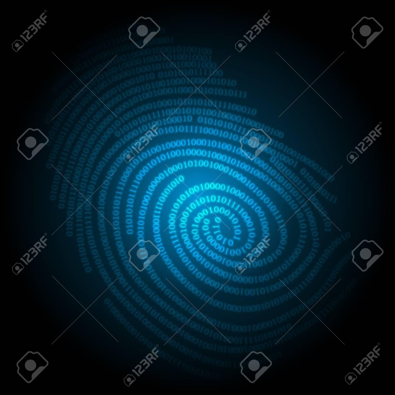 blue technology background, vector illustration eps10 Stock Vector - 14152898