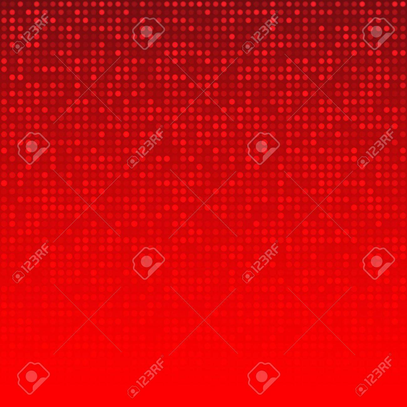 Abstract Red Technology Background Stock Vector - 19485775