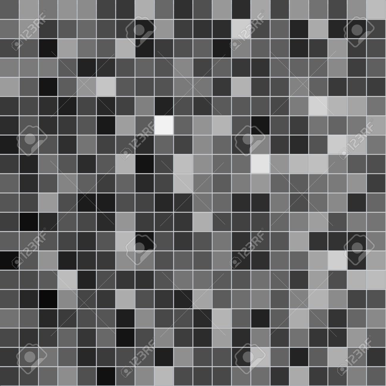 Fliesen Grau Mosaik. Textur Lizenzfreie Fotos, Bilder Und Stock ...