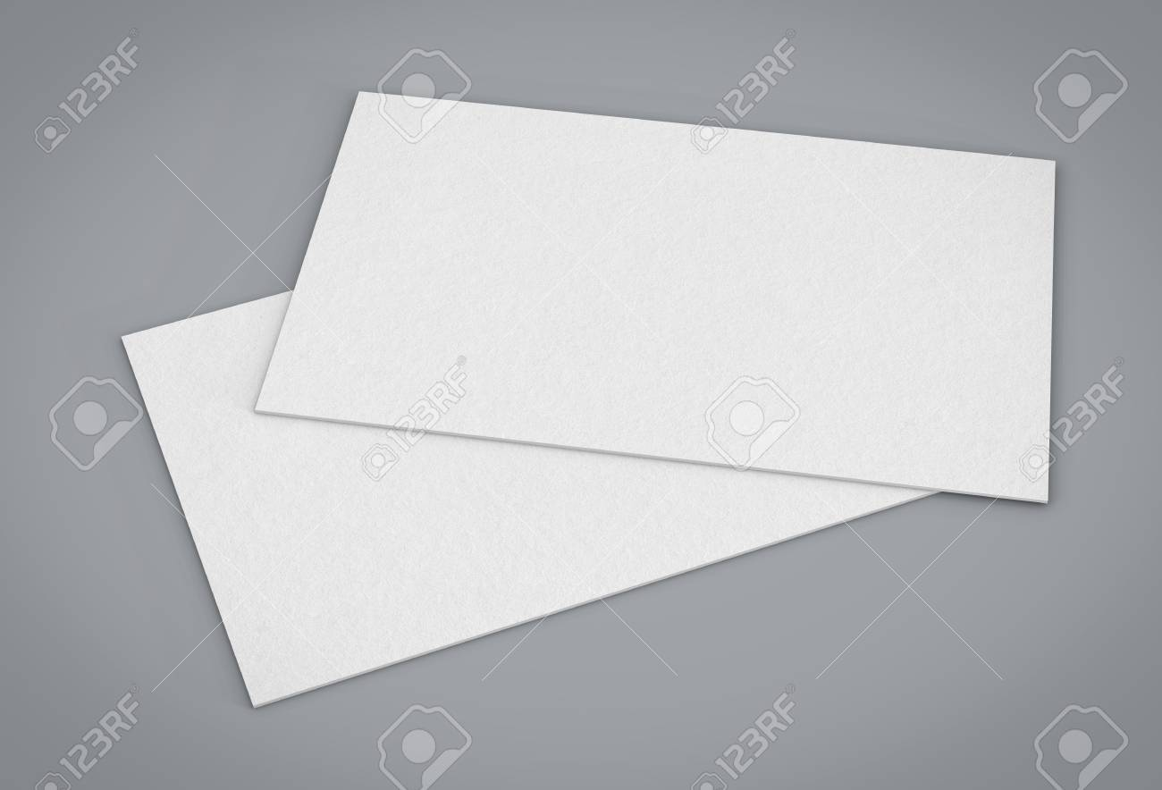 Blank template business cards on gray background 3d rendering foto banco de imagens blank template business cards on gray background 3d rendering reheart Image collections
