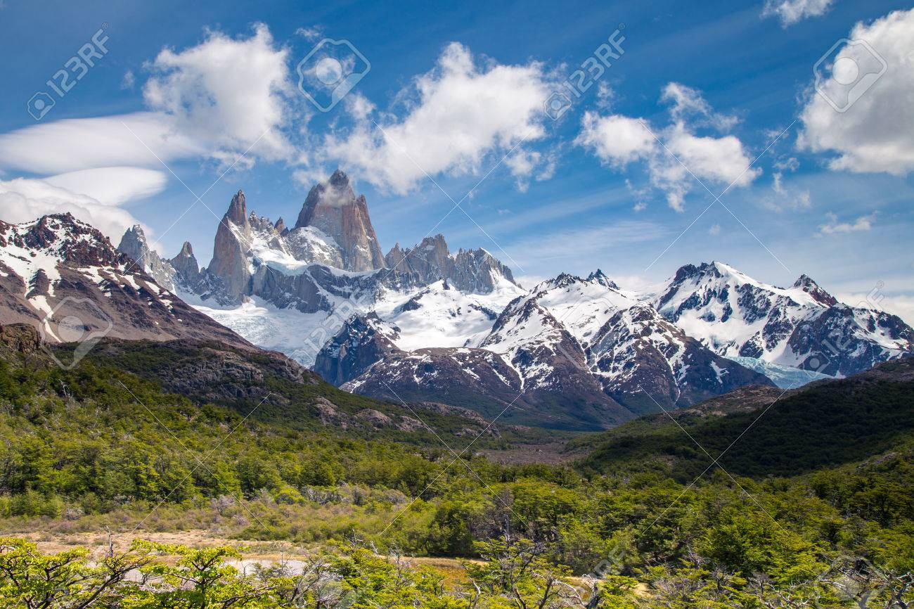Patagonia South America >> Fitz Roy Mountain Mountains Landscape Patagonia South America
