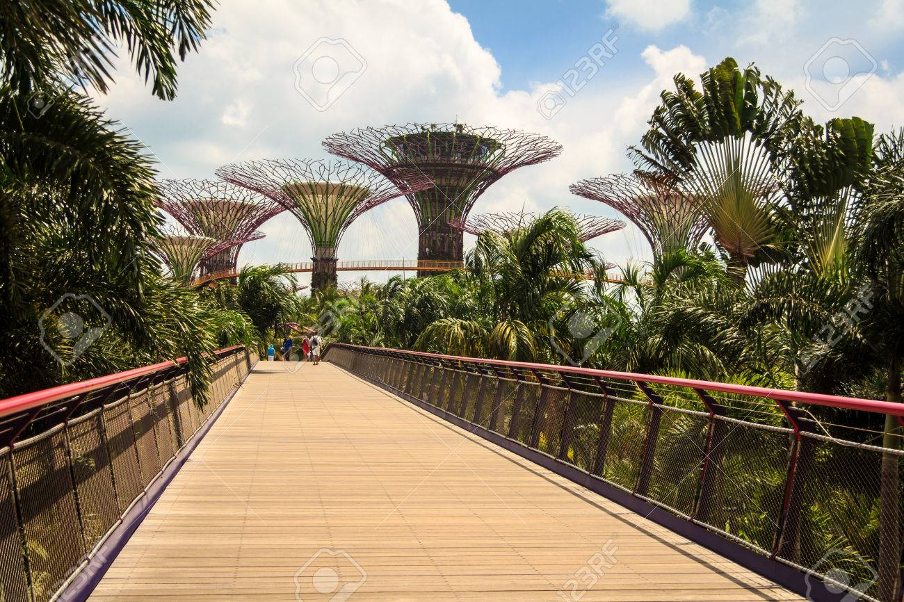 garden by the bay entrance
