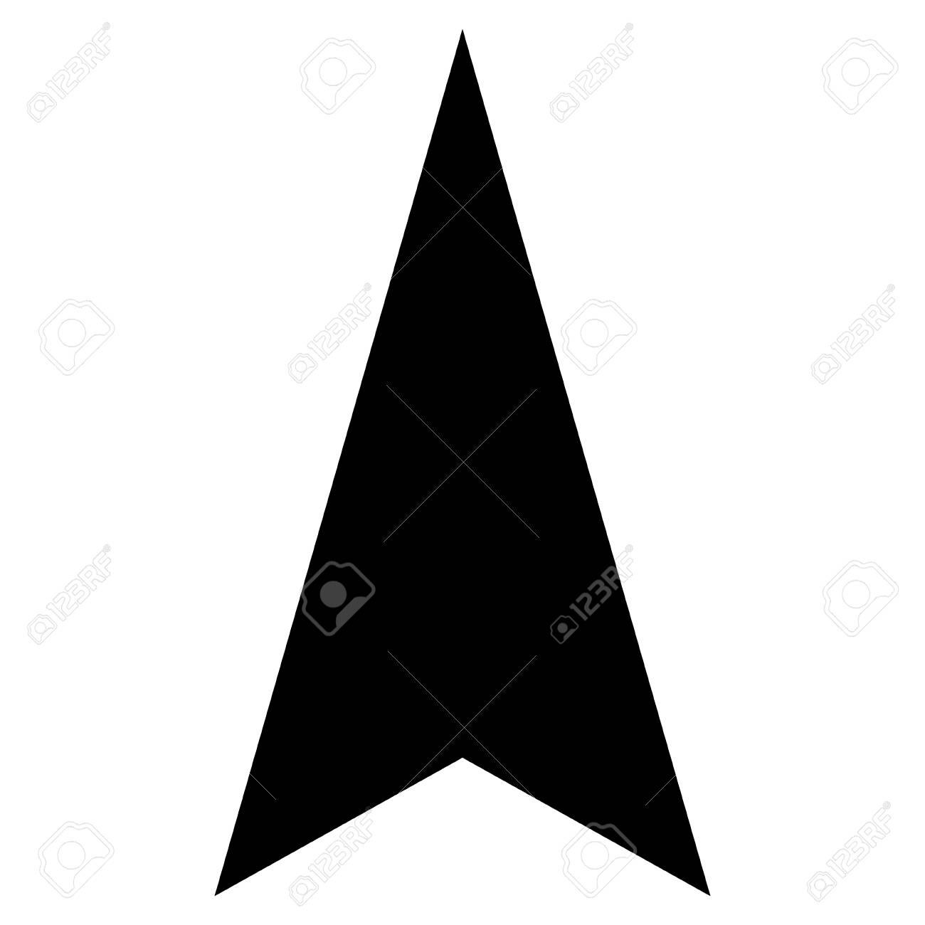 arrowhead up vector icon style is flat icon symbol black color rh 123rf com arrowhead vector black arrowhead vector graphic