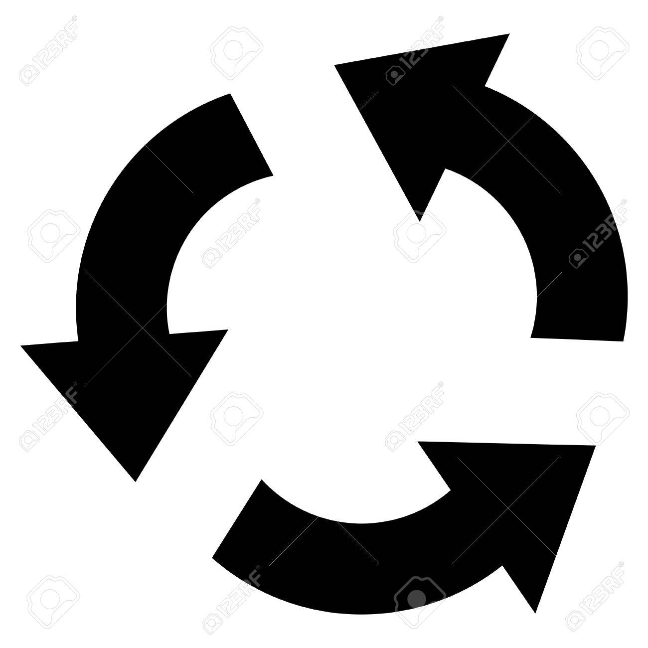 recycle vector icon style is flat icon symbol black color rh 123rf com recycle vector file recycle vector art