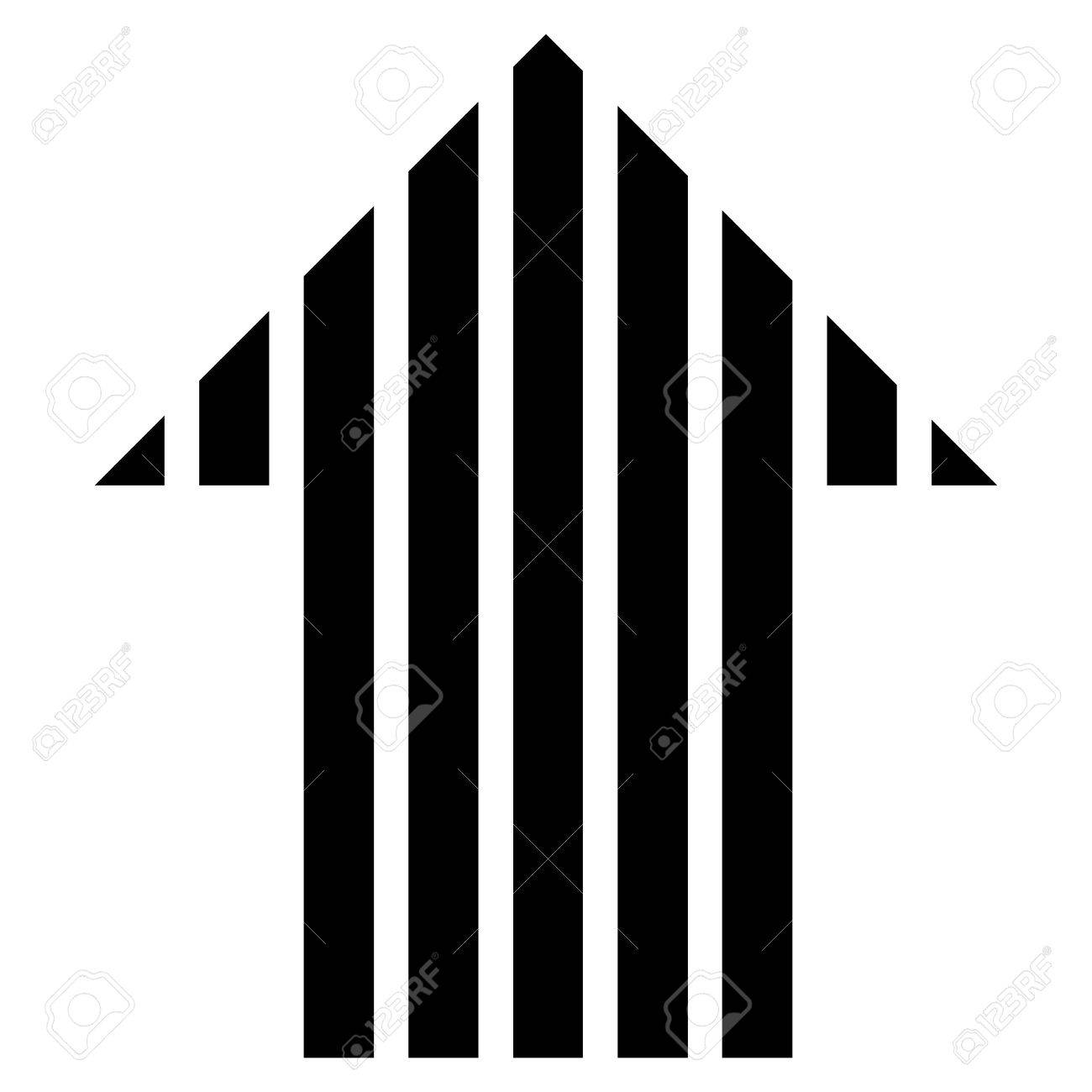 Stripe arrow up vector icon style is flat icon symbol black stripe arrow up vector icon style is flat icon symbol black color white altavistaventures Gallery