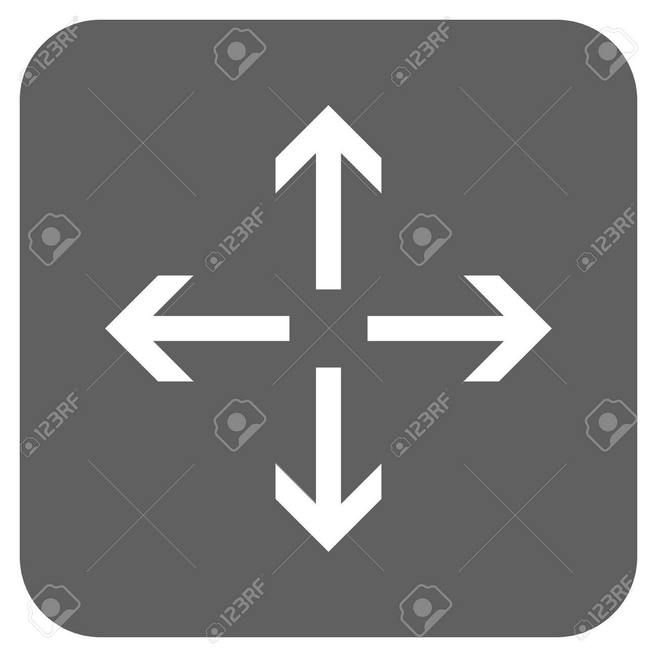 Expand Arrows vector icon  Image style is a flat icon symbol