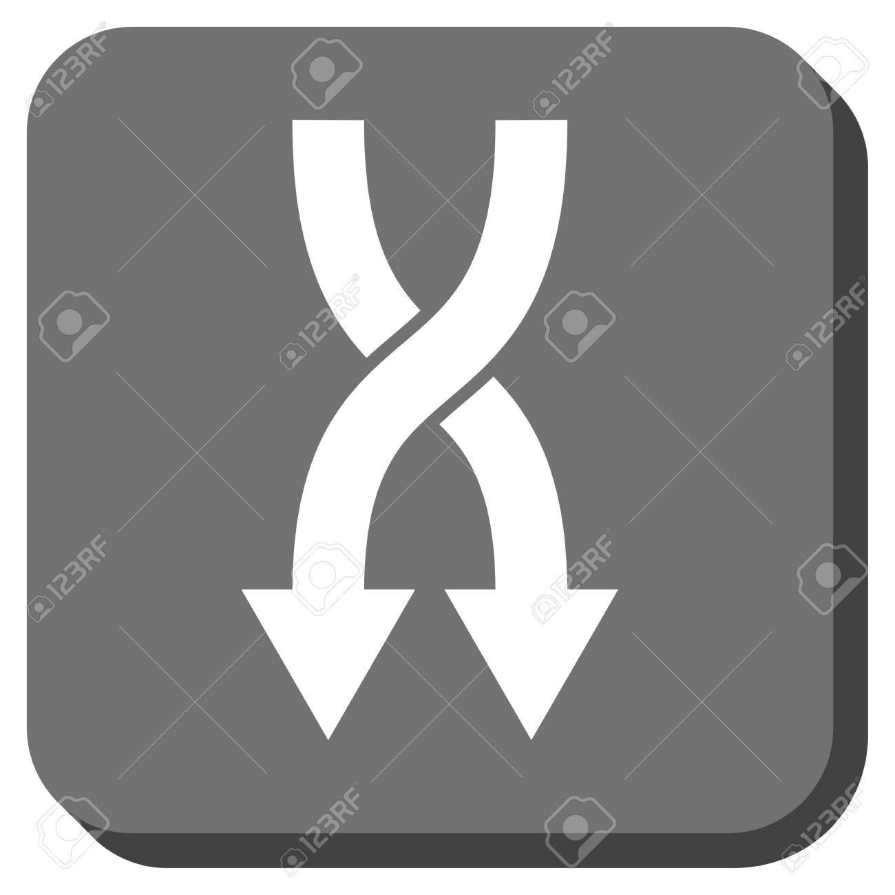 Shuffle Arrows Down Glyph Icon Image Style Is A Flat Icon Symbol