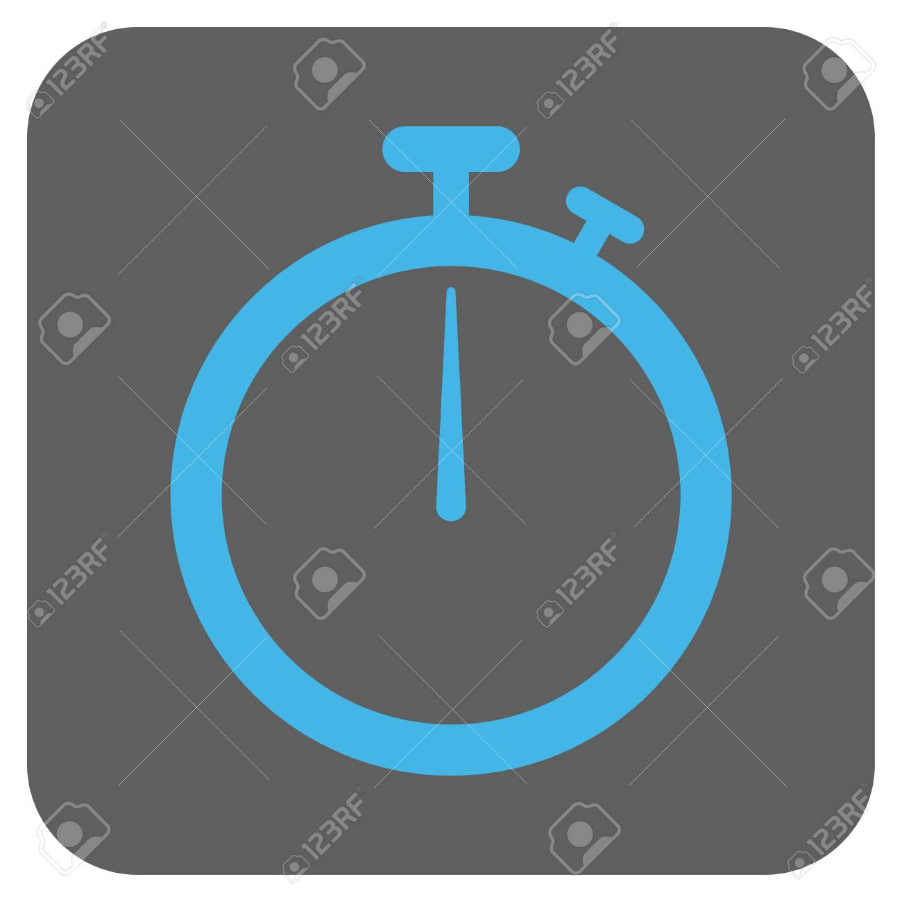 Stopwatch Glyph Icon. Image Style Is A Flat Icon Symbol In A.. Stock ...